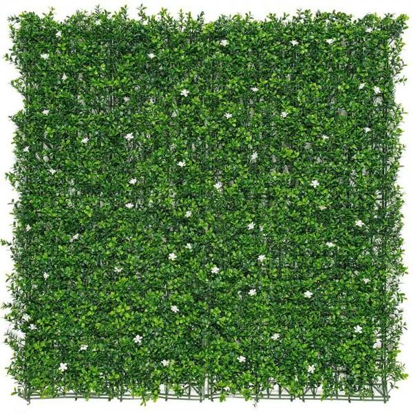 Jardín vertical flores de jazmín  1x1m  nortene